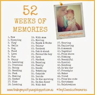 52 Weeks of Memories
