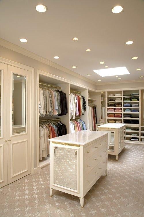 Huge Neutral Closet