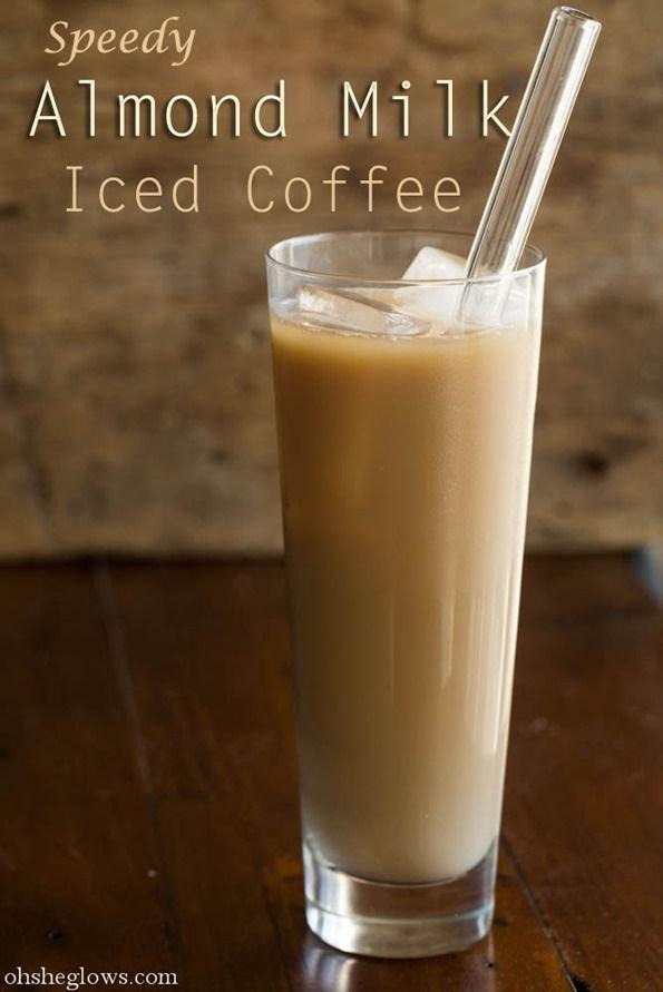 Speedy Almond Milk Iced Coffee