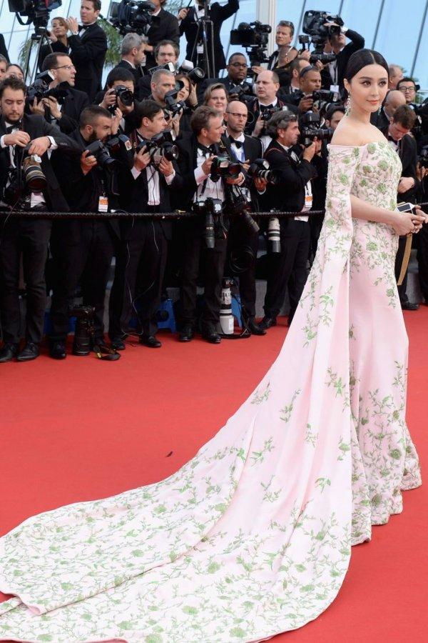 Fan Bingbing at the Cannes Film Festival