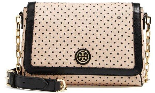 Kerrington Dot Print Cross-body Bag