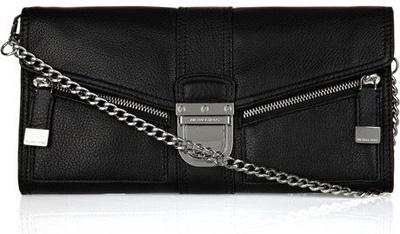 Michael Kors Riley Leather Envelope Bag