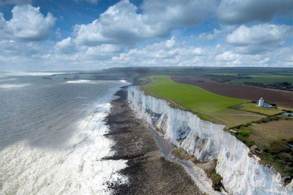 coast, shore, sea, wind wave, cliff,