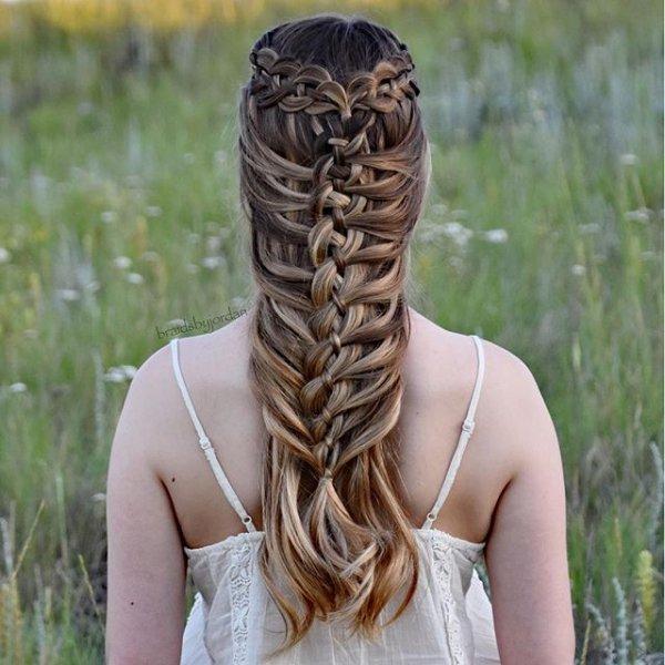 hair, hairstyle, long hair, braid, blond,