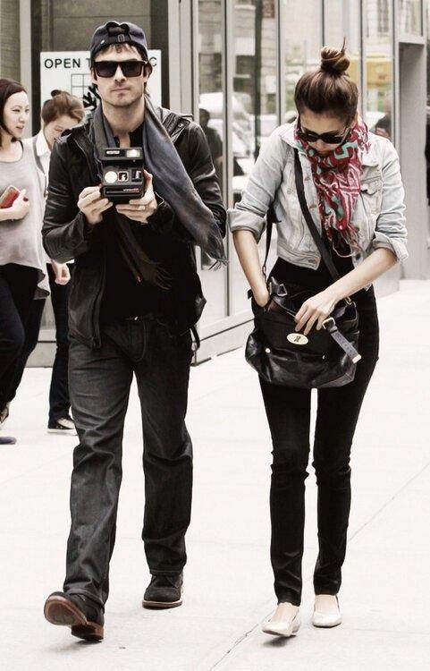 Nina Dobrev & Ian Somerhalder