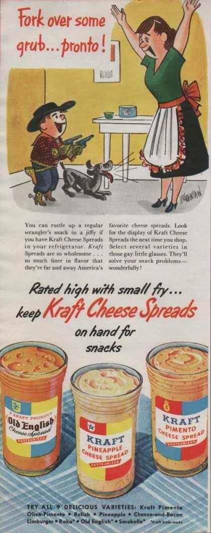 Kraft Cheese Spread Cartoon