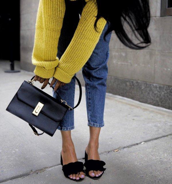 yellow, jeans, footwear, shoe, denim,