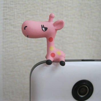 Cute Giraffe anti-Dust Plug