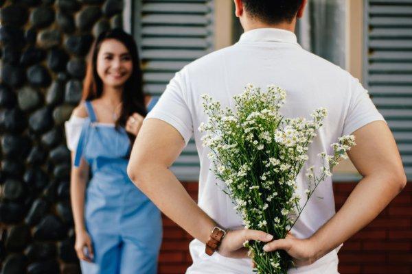 flower, plant, shoulder, flower arranging, dress,