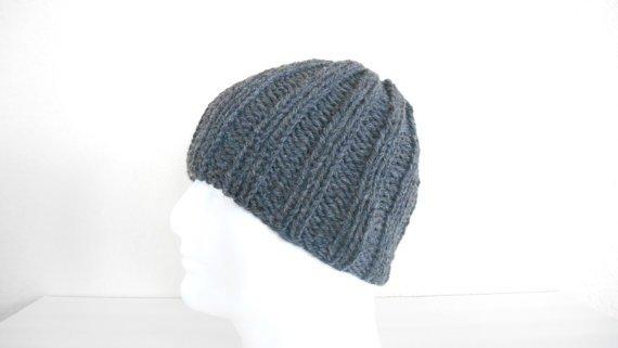 Chunky Knit Wool Hat