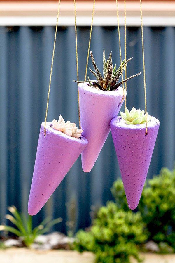 Hang STYROFOAM Cones