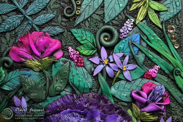Floral Journal Detail