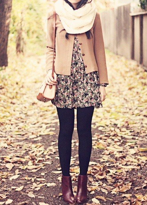 Layer a Skirt over a Dress