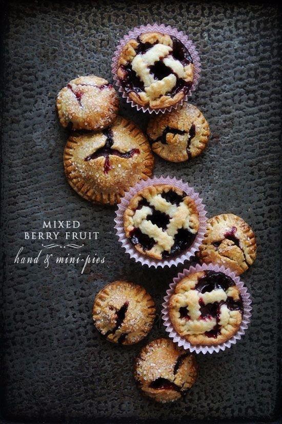 Mixed Berry Fruit Mini Pies
