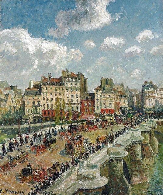 Pont Neuf -Pissarro