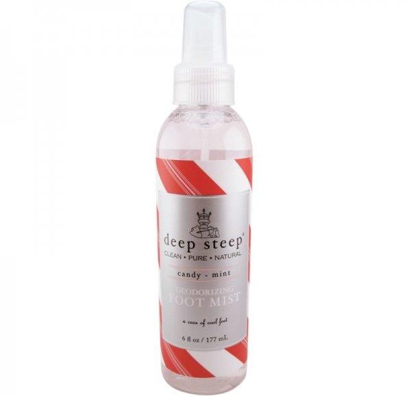 Deep Steep Candy Mint Deodorizing Foot Mist
