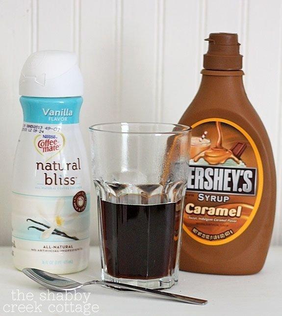 Caramel Vanilla Iced Coffee