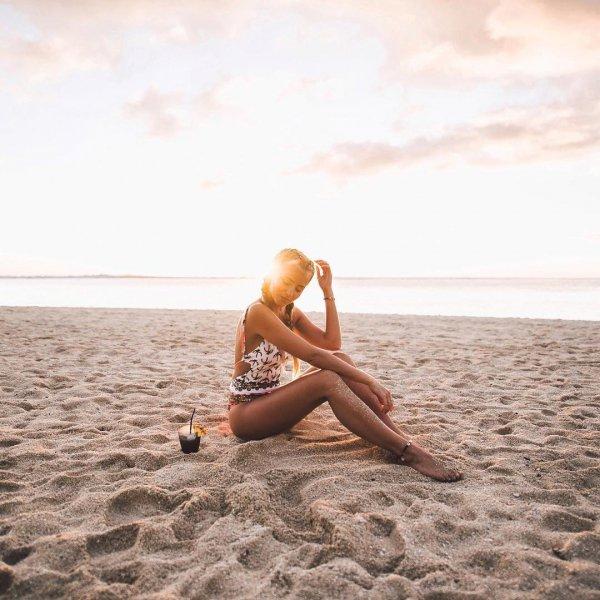 person, vacation, human positions, human action, sea,