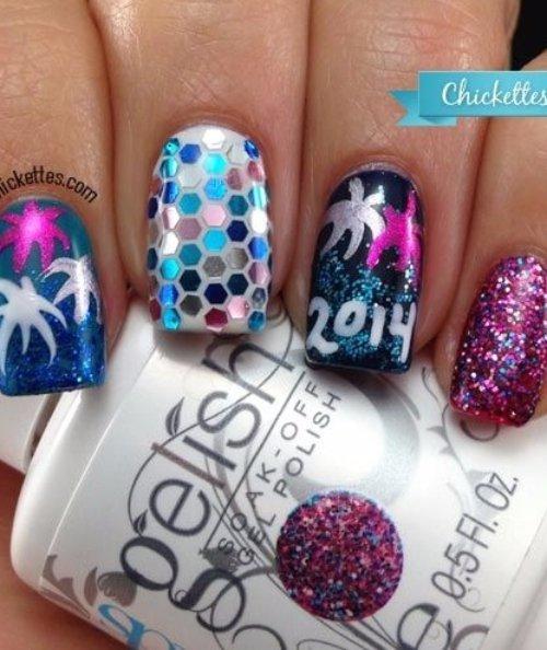 Gelish,color,nail,finger,purple,