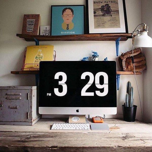 wall, room, art, furniture, shelf,