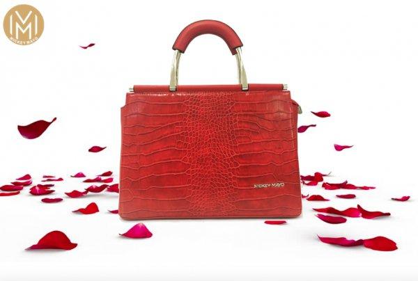 red, handbag, bag, fashion accessory, product,