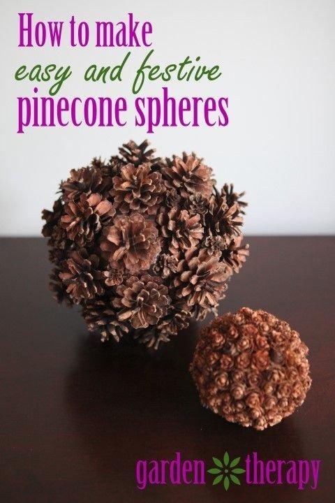 Pine Cone Spheres