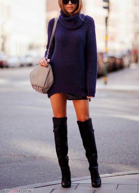Glam up a Short Dress