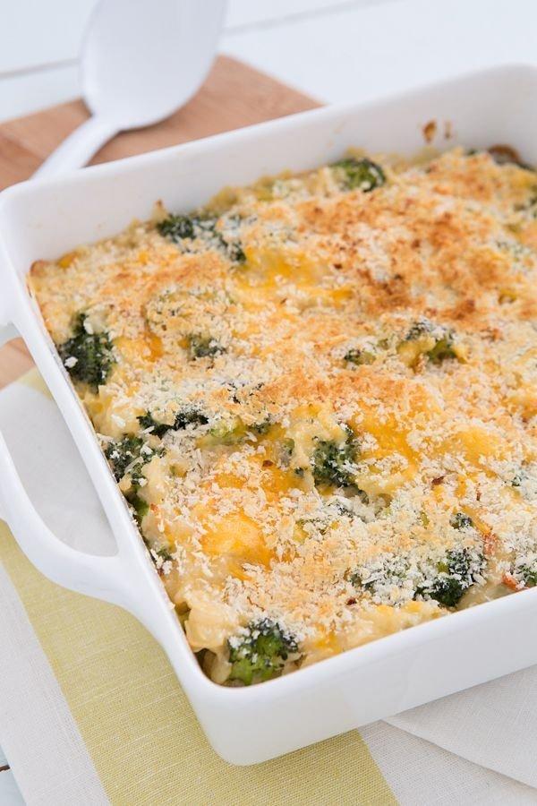 Cheesy Vegetarian Brown Rice Casserole