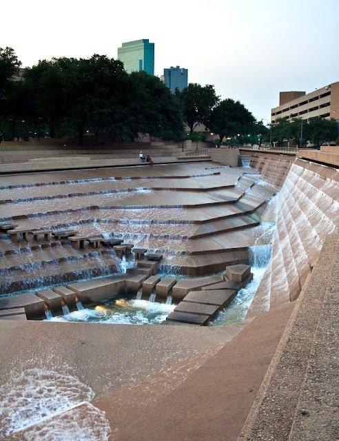 Water Gardens, Fort Worth