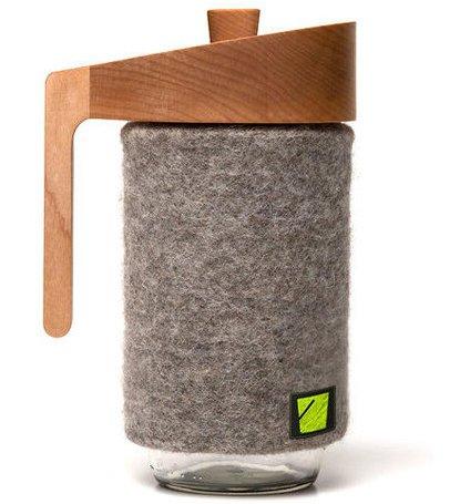 French Press Mason Jar Coffee Maker