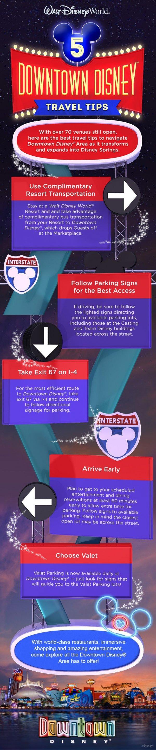 Navigate Downtown Disney