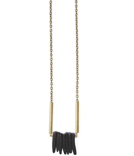 Coconut Stick Bar Necklace