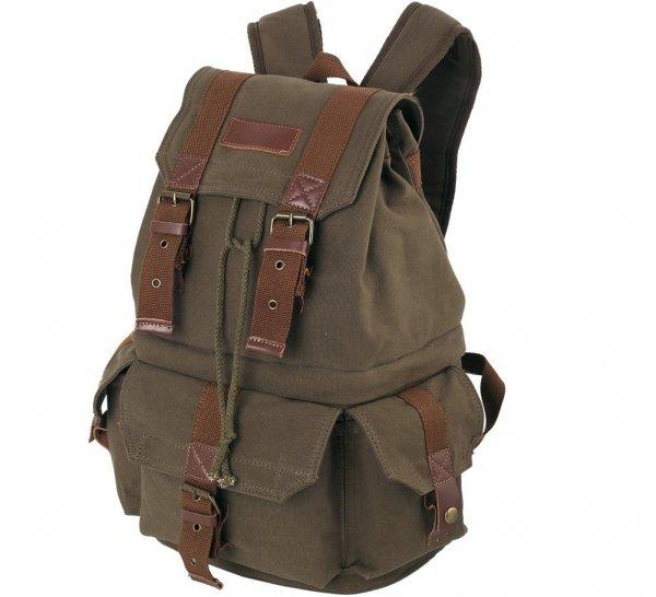 Koolertron Canvas DSLR SLR Camera Shoulder Bag