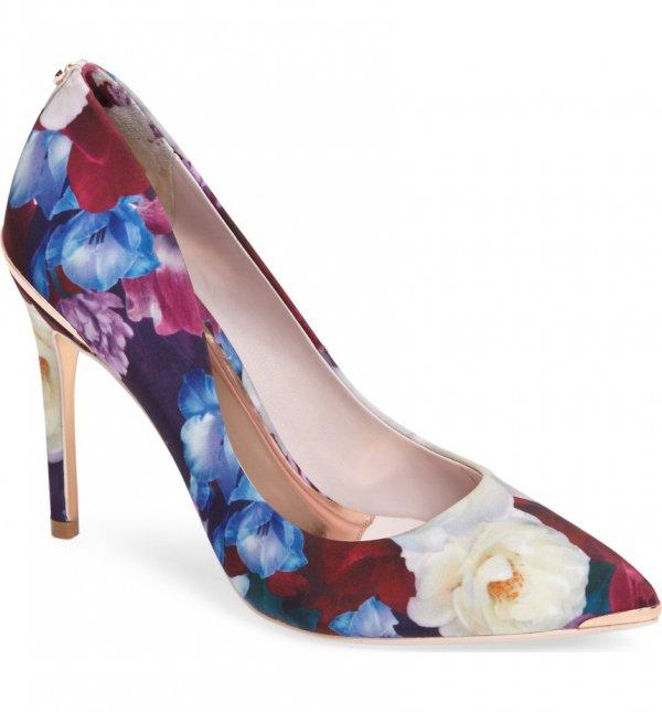 footwear, shoe, high heeled footwear, leg, spring,