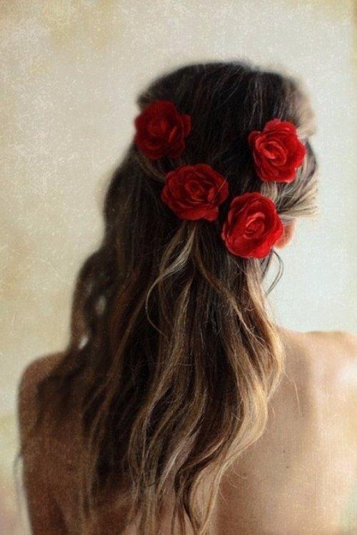 Wear Flowers in Your Hair