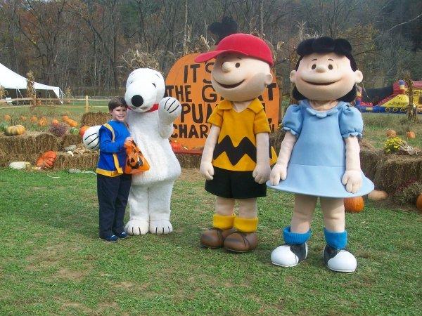 Peanuts Pumpkin Patch Express, Bryson City, North Carolina