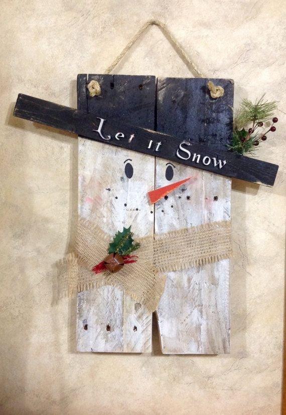 Snowman Door Hanging