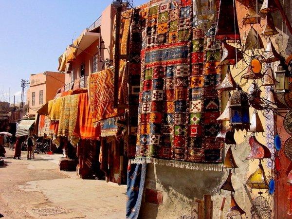 Djemaa El Fna and Medina Souks, Marrakesh, Morocco