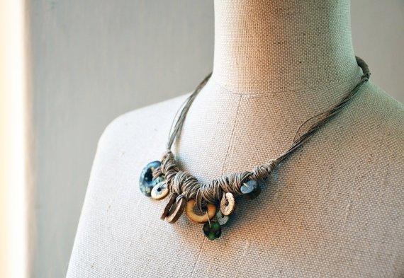 LINEN Twine Necklace