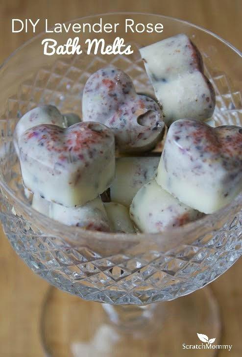 Rose and Lavender Bath Melts