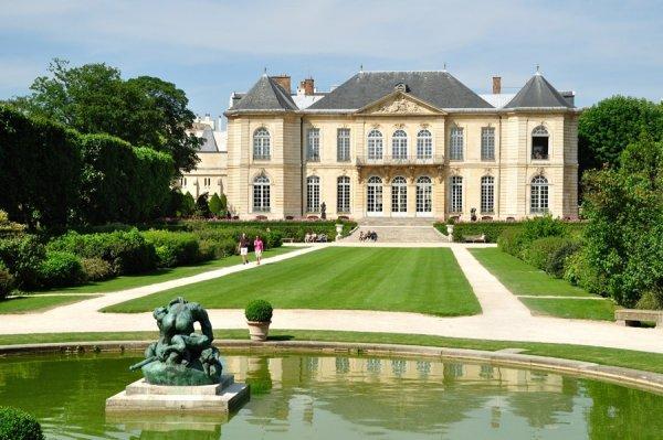 Musée Rodin, estate, château, garden, mansion,