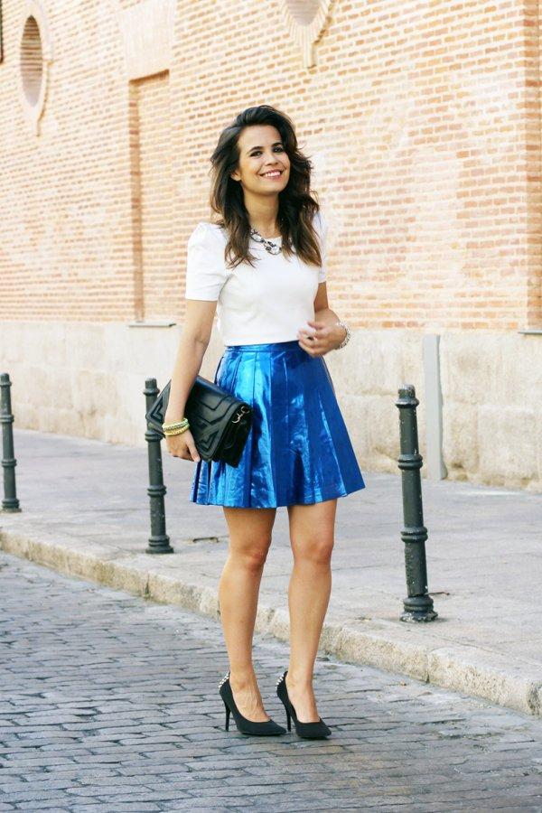 Lovely Blue Skirt