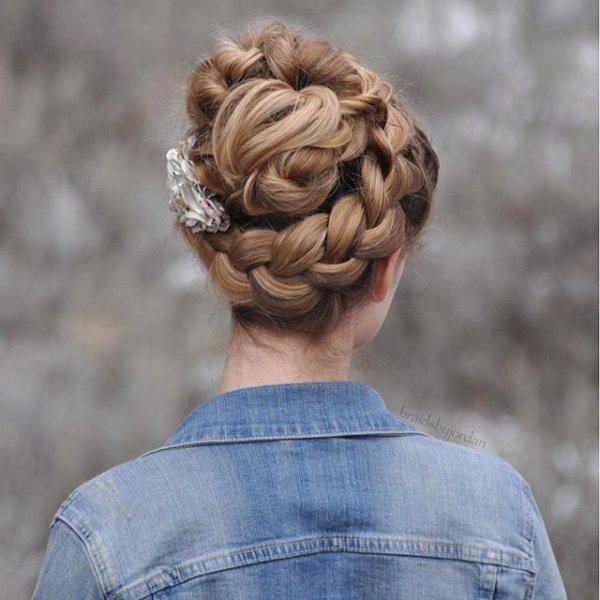 hair, hairstyle, braid, french braid, sculpture,