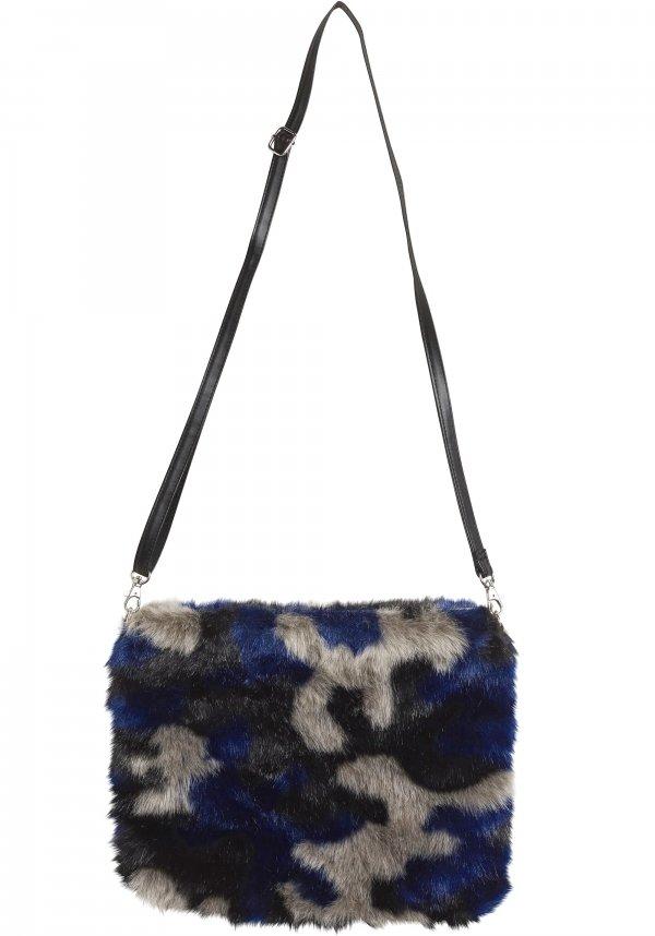 Multicolour Faux Fur Bag