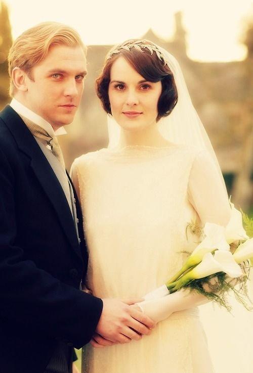 """Dan Stevens & Michelle Dockery on """"Downton Abbey"""""""