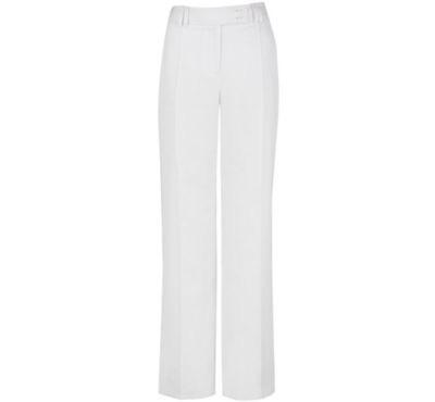 Planet White Wide Legged Linen Trousers