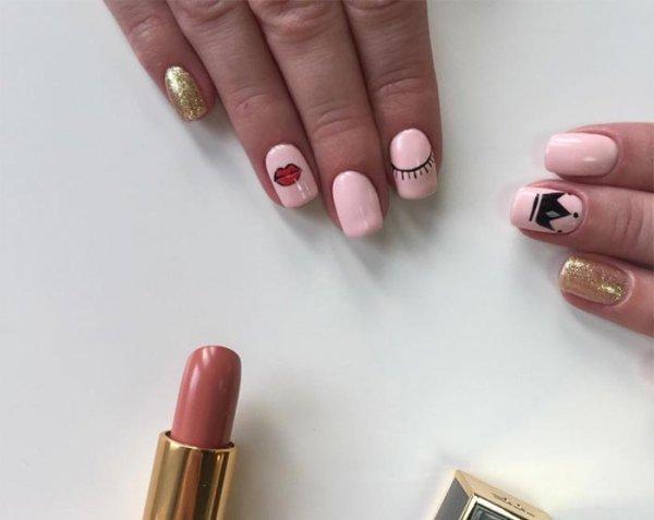 nail, finger, pink, nail care, hand,
