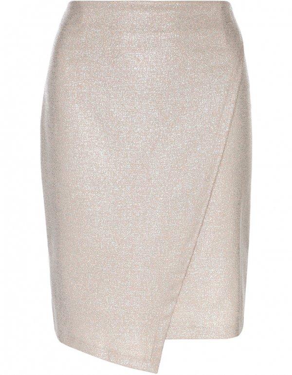 Blush Wrap Skirt