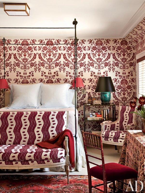 Room, Furniture, Living room, Interior design, Red,