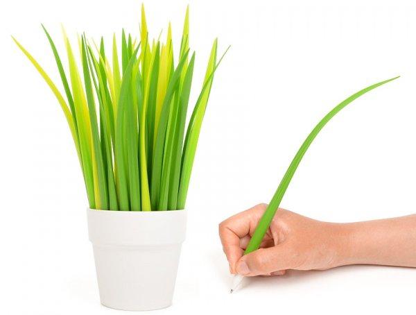 Blade of Grass Pen, Light Green, Set of 10